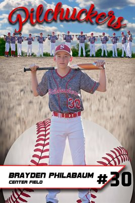 2018 Pilchuckers #30 Brayden light poster