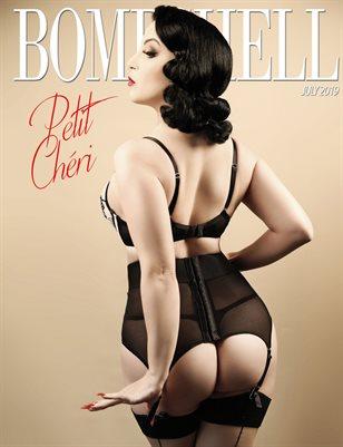 BOMBSHELL Magazine July 2019 BOOK 2 - Petit Cheri Cover