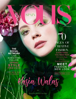 VOUS Magazine | The March Fashion & Beauty Edition | Vol.5 | 2021
