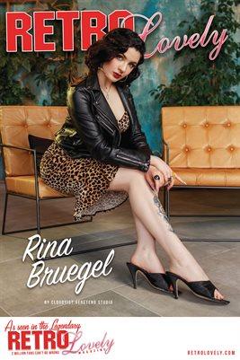 Retro Lovely No.149 – Rina Bruegel Cover Poster