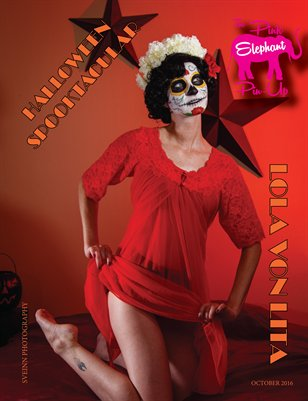 The Pink Elephant Pinup Spooktacular Issue October 2016