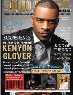 Soul Central Magazine #Actor #Kenyon #Glover 54th Edition