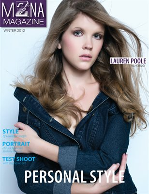 MZNA Magazine Winter 2012 issue-Personal Style