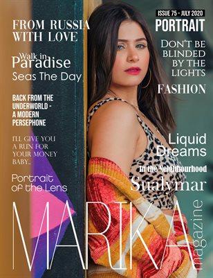 MARIKA MAGAZINE PORTRAIT (July - issue 75)