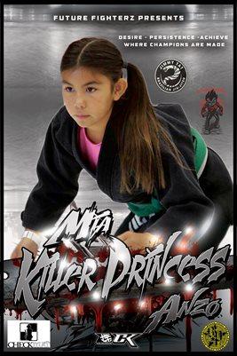 Mia Anzo Silver Poster