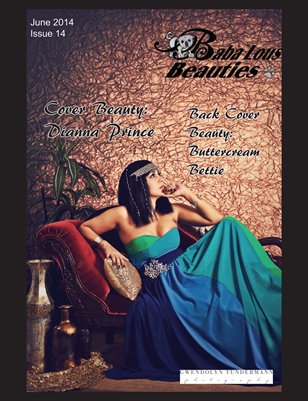 Baba Lous Beauties- June Anything Pin Up Issue 14- June 2014
