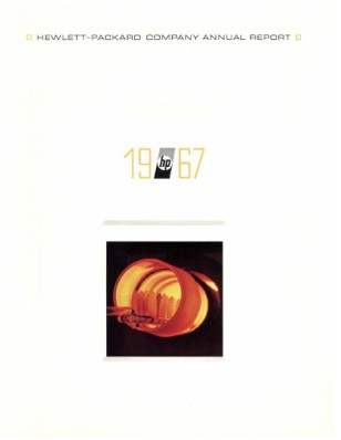 HP Annual Report 1967