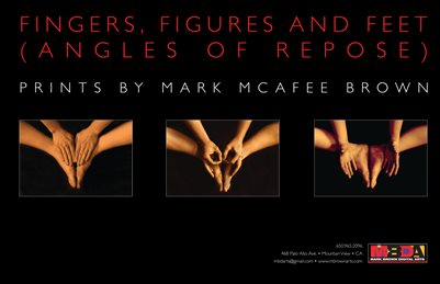 Fingers, Figures and Feet (Angles of Repose) • Prints by Mark McAfee Brown