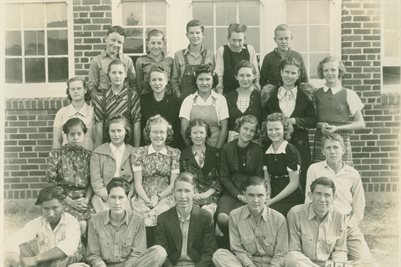 8TH GRADE 1938-39 MILLSAP TEXAS