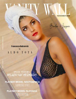 Vanity Wall Magazine | COVER 1 | BOUDOIR EDITION | NOV 2020 | Vol. i Issue 5