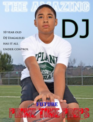 Future Prime Time Preps Magazine March 2012 Issue -DJ Cover