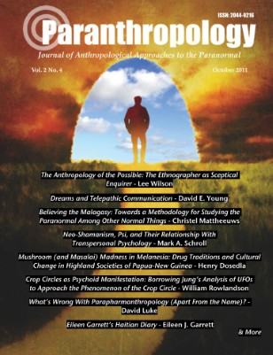 Paranthropology: Journal of Anthropological Approaches to the Paranormal Vol. 2 No. 4 (October 2011)