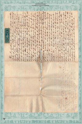 1867 Deed, Veatch to Sane, Fulton County, Kentucky