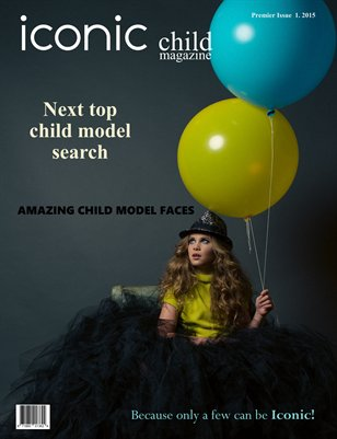 Iconic Child Magazine Premier Issue 1
