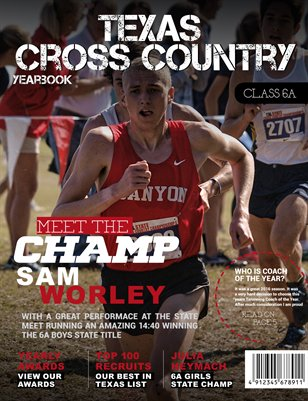 2016 Cross Country Yearbook