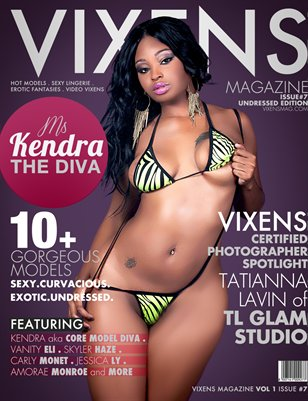 Vixens Magazine Issue #7 UnDressed Edition