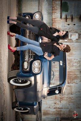 Dez and Rachelle - 58' Chevy Apache
