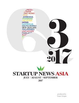 Q3 2017 Startup News Asia