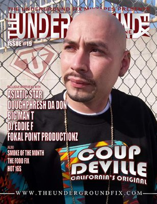 The Underground Fix Magazine Issue #19