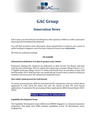 GAC Group: Innovation News