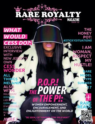 Rare Royalty Magazine Issue 2: The Power of the P Summer Edition 2017