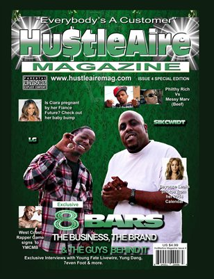 Hu$tleaire Magazine Issue 4-8 Bars Special Edition