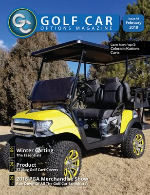 Golf Car Options Magazine - February 2018