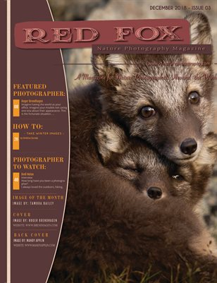 Issue 03: Winter 2018 - Red Fox Nature Photography