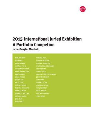 2015 International Juried Exhibition