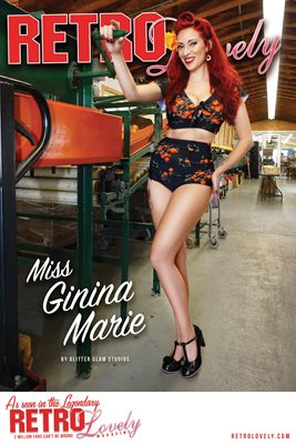 Retro Lovely No.150 – Miss Ginina Marie Cover Poster