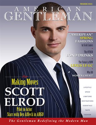 Men's Magazine • Premiere Issue of American Gentleman
