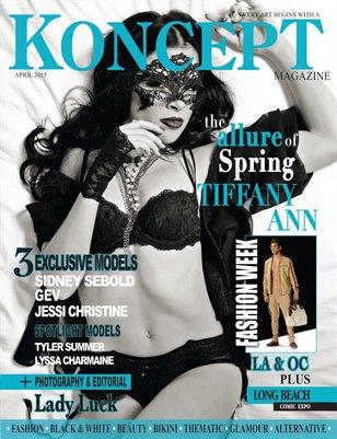 Koncept Magazine April 2015