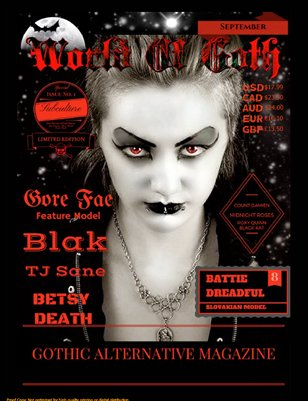 WORLD OF GOTH SEPTEMBER 2015