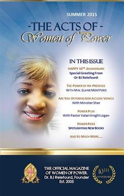 The Acts Of Women Of Power SUMMER 2015 Magazine