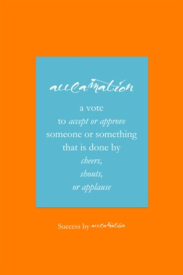 Acclamation Poster