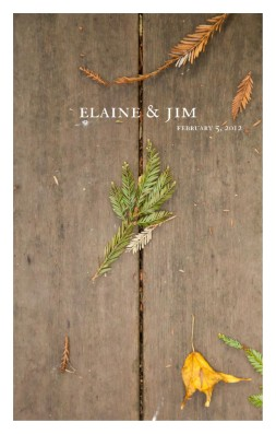 Elaine & Jim: Wedding