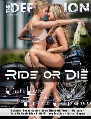 The Definition Magazine: Ride or Die Vol.3 CatiBritt cover