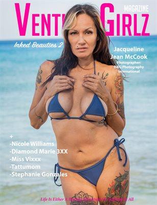 Venture Girlz Magazine Inked Beauties Vol.2 Featuring Jacqueline Jean Mccook
