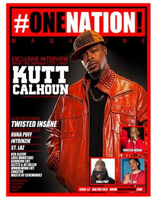 #OneNation! Magazine - Issue #2 Jan/Feb 2013