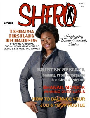SHERO MAGAZINE ISSUE 2 JULY