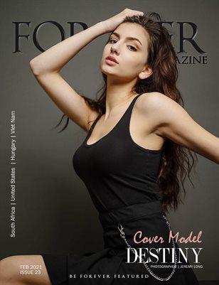 FOREVER Model Magazine Issue 23
