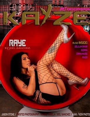 Kayze Magazine issue 18 (RAYE)