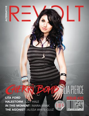 Alt Revolt Mag Issue 25.5 (Julia Pierce | Cherri Bomb) Limited Edition [Bonus Issue]