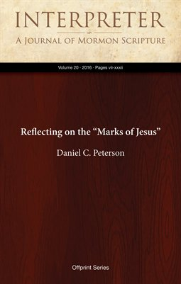 "Reflecting on the ""Marks of Jesus"""