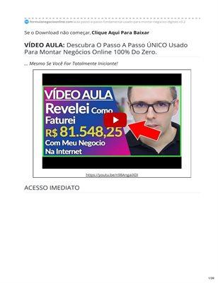 Fórmula Negócio Online | FNO Alex Vargas