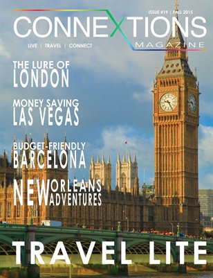 Connextions Magazine Issue 19: Travel Lite