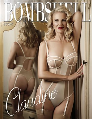 BOMBSHELL Magazine October 2019 BOOK 1 - Claudine Cover