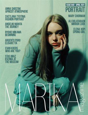 MARIKA MAGAZINE PORTRAIT (ISSUE 840 - APRIL)