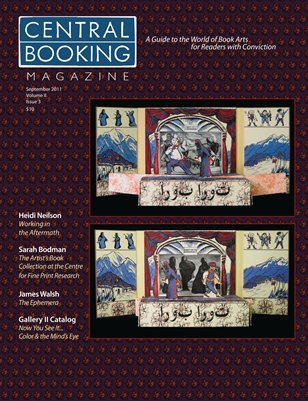 CENTRAL BOOKING Magazine September 2011