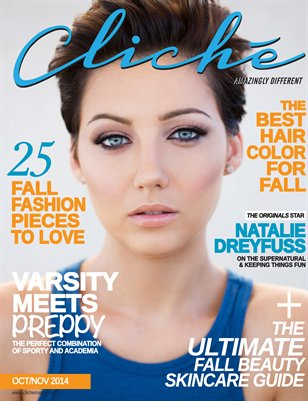 Cliché Magazine - Oct/Nov 2014 (Natalie Dreyfuss Cover)